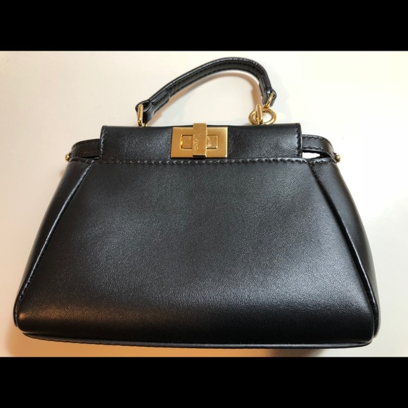 Fendi Handbags - 💯 Authentic Fendi Micro Peekaboo cda107e68d351